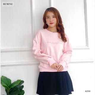 Aó hoodie in chữ BEMINE A204HONG thumbnail