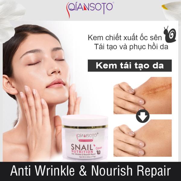 QIANSOTO Kem Dưỡng ẩm Da Mặt Làm Sáng Da Whitening Skin Care