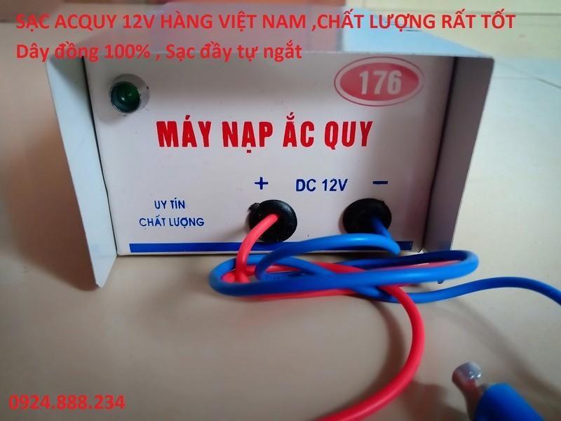 Sạc Acquy 12V hàng công ty
