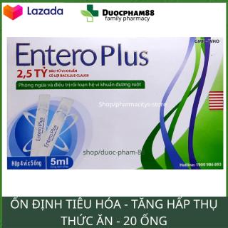 HSD 2023 Men vi sinh giảm táo bón đầy hơi kích tiêu ăn ngon Entero plus - Hộp 20 ống men tiêu hóa cho bé men tiêu hoa men tieu hoa Men vi sinh men vi sinh biogaia dược phẩm 88 thumbnail