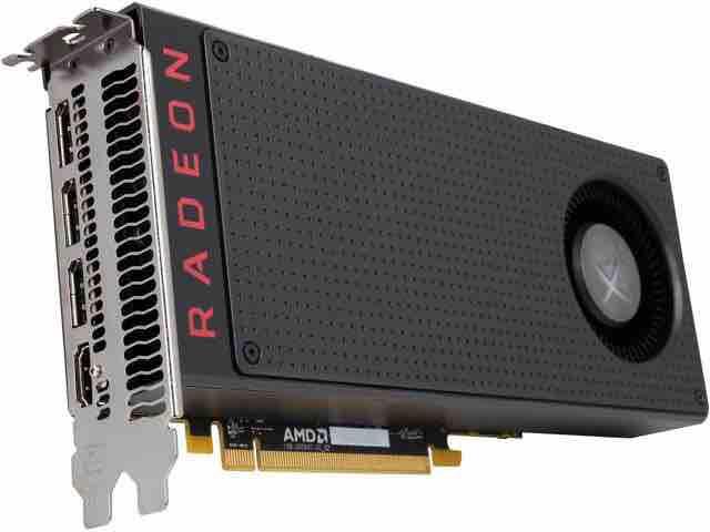 VGA XFX Radeon Black Edition RX 480 4GB - Bảo hành 03-2020