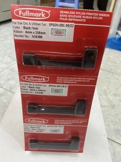 [HCM]Băng mực Ruy băng Fullmark ERC-09 22 ( N363BK ) - hàng chính hãng Fullmark - dùng cho máy Epson ERC-09 M150 164 185 HX20 thumbnail