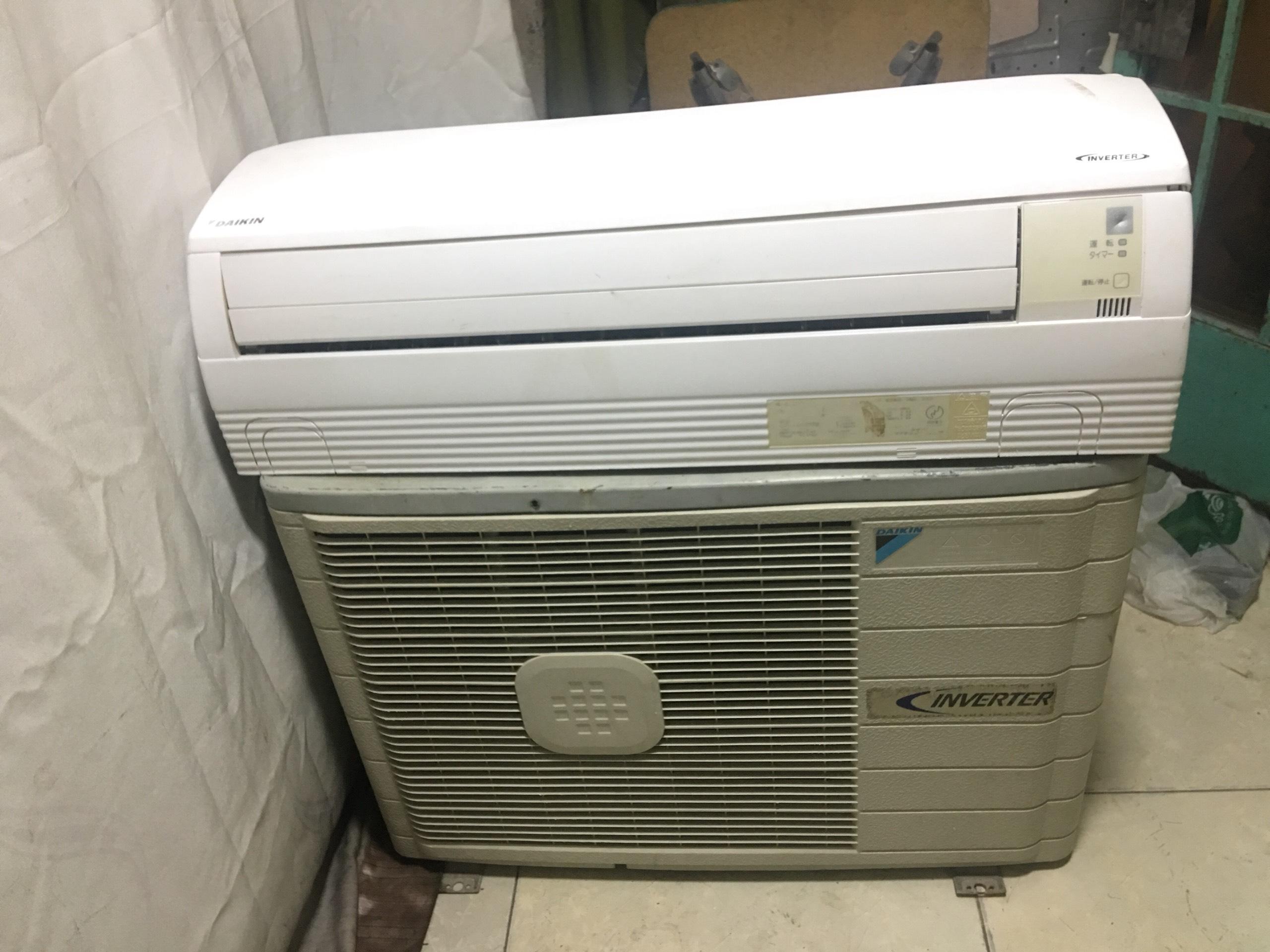 Máy lạnh cũ giá rẻ tiết kiệm điện Daikin 1HP inverter nội địa - bao lắp đặt(chỉ nội thành HCM)