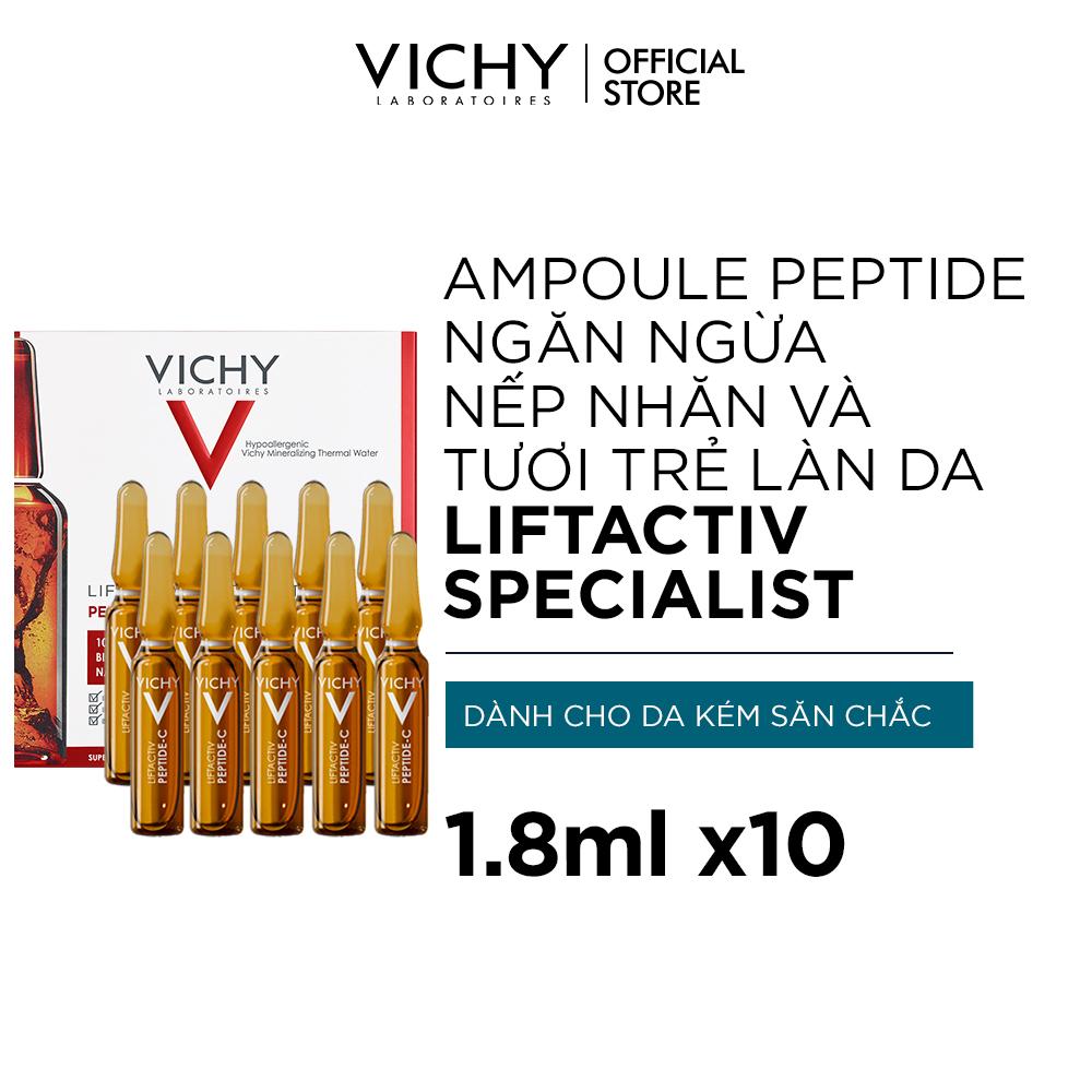 Tinh chất cô đặc giúp phục hồi và chống lão hóa Vichy Liftactiv Specialist Peptide-C Anti Aging Ampoule 1.8ml x 10