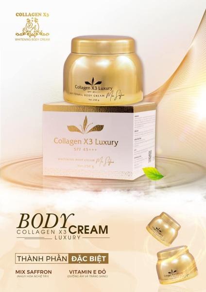 Body Collagen X3 Đông Anh Hàng Chính Hãng Hộp 250Gr cao cấp