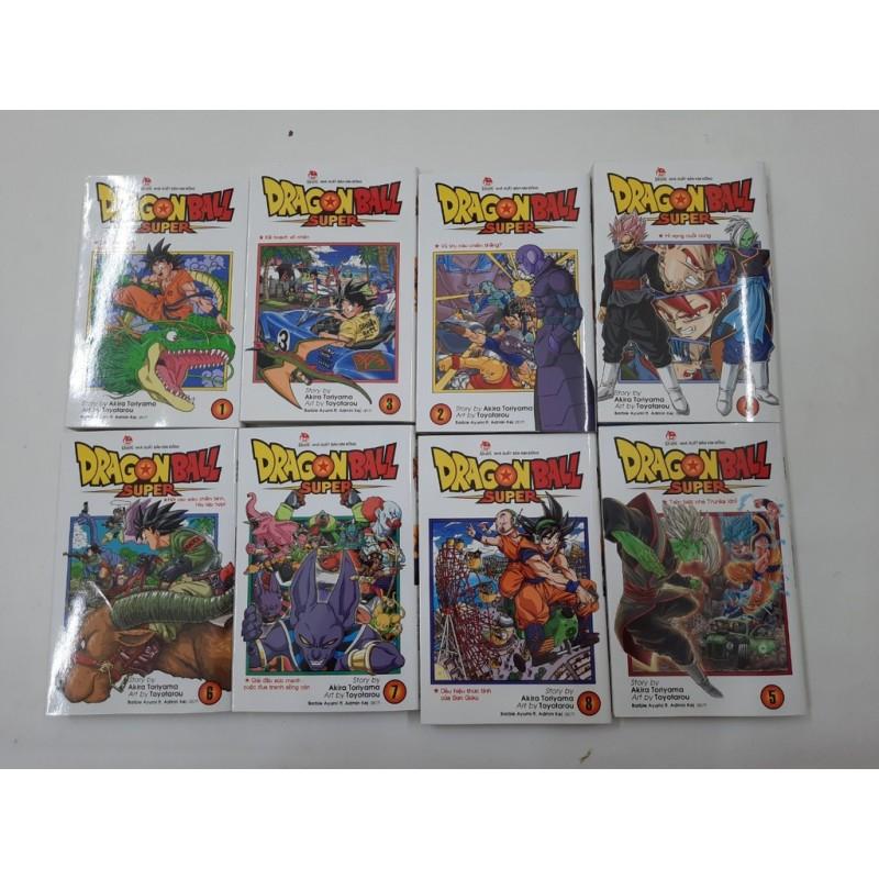 Mua Truyện tranh - Dragon Ball Super (Trọn bộ 11 tập mới )