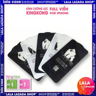 Kính cường Lực iphone full màn KingKong ip 6 6plus 6s 6splus 7 7plus 8 8plus x xr xs 11 12 pro max plus promax lala case shop ốp lưng iphone đẹp thumbnail