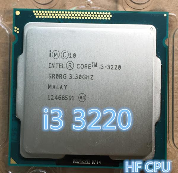 Bảng giá CPU Chip Máy Tính PC I3 3220 Socket 1155 Phong Vũ