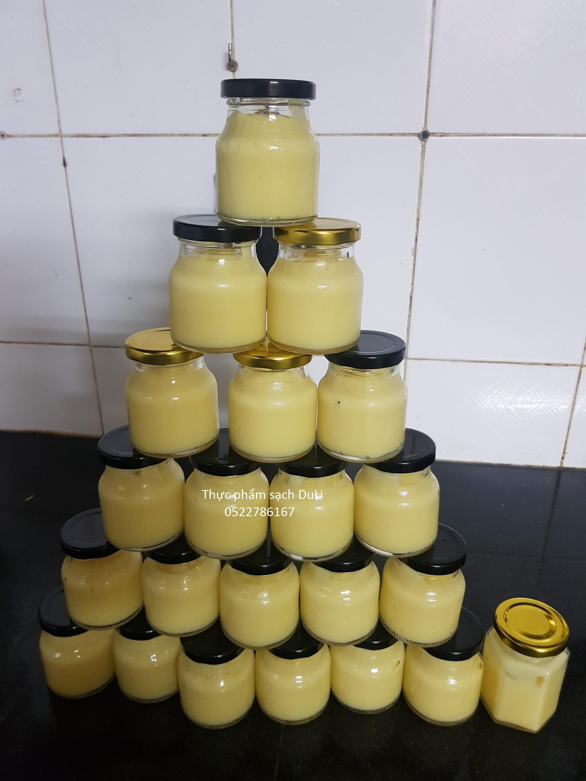 Sữa ong chúa tươi nguyên chất -100g + TẶNG cọ quyét đắp mặt nạ siêu cute và tiện dụng (số lượng có hạn) nhập khẩu