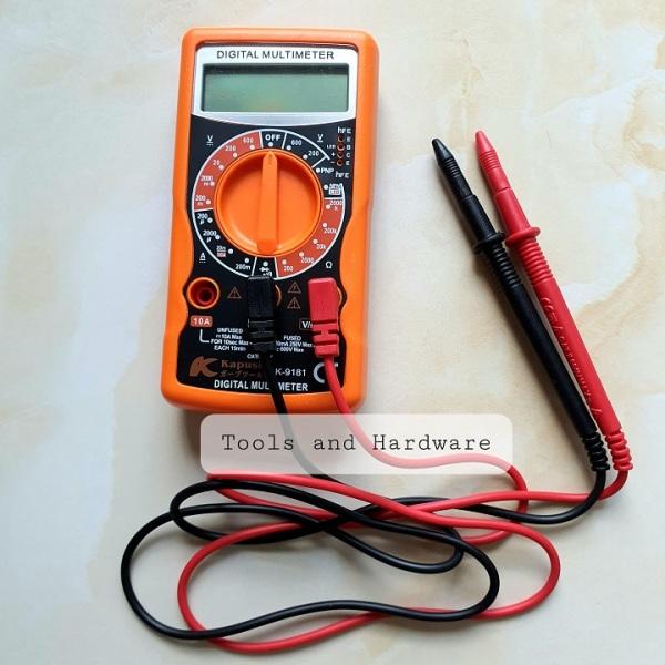Đồng hồ vạn năng hãng Kapusi Nhật Bản K-9181 dùng đo điện AC, DC có tặng kèm 1 bút thử điện Kapusi (Đồng hồ đo điện)