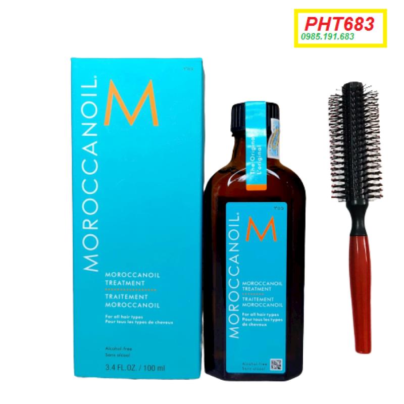 Dầu dưỡng tóc moroccanoil Treatment Original 100ml moroccan oil tặng lược