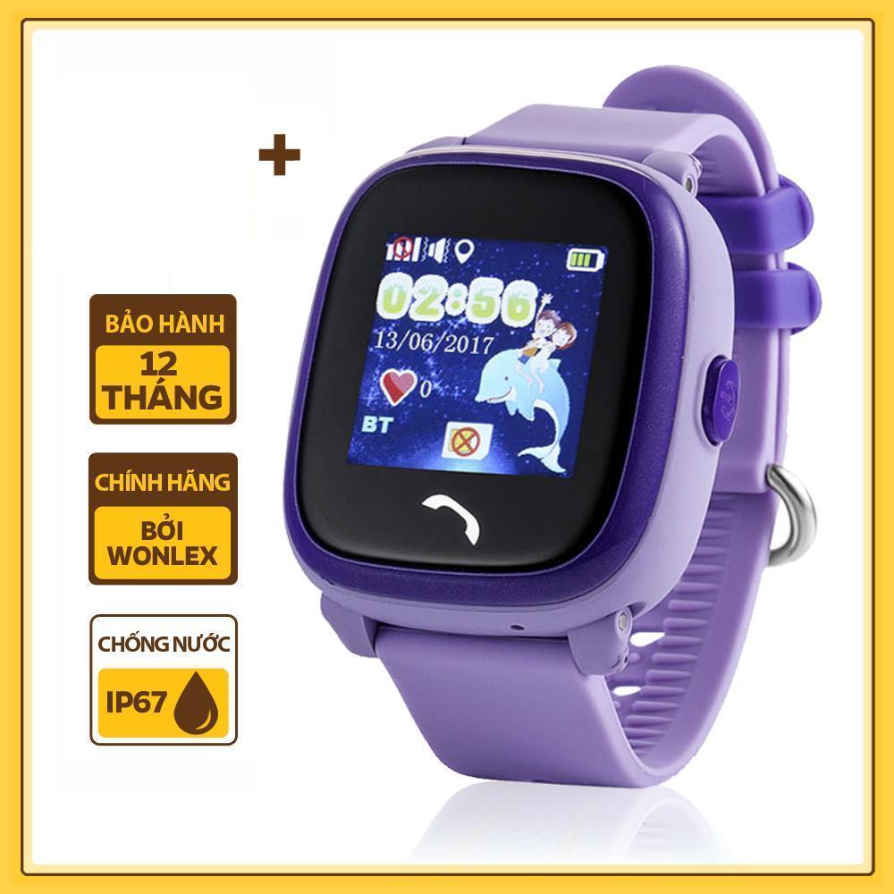 Đồng hồ bé gái định vị gps trẻ em chống nước Wonlex GW400X có camera - Hãng Phân Phối Chính Thức