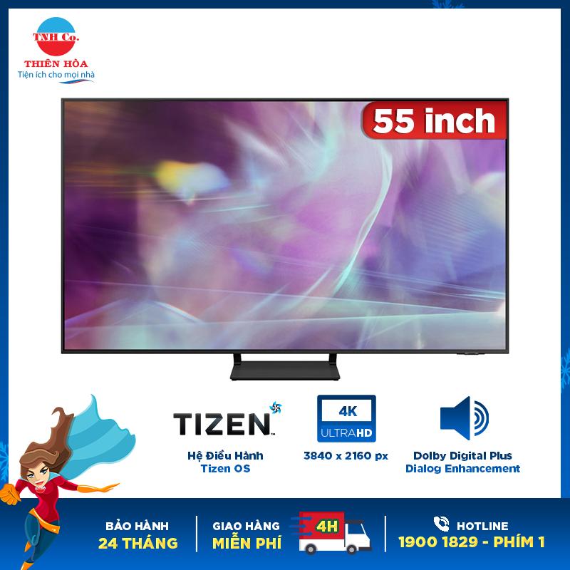 Smart tivi Samsung QLED 4K 55 inch QA55Q60AAKXXV chính hãng