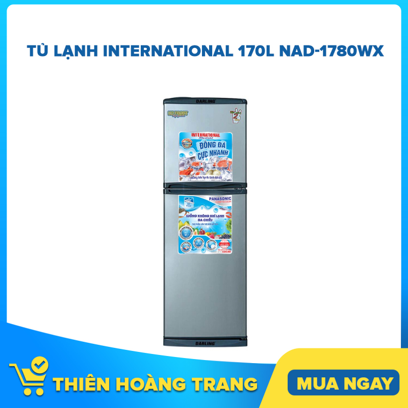 TỦ LẠNH INTERNATIONAL 170L NAD-1780WX