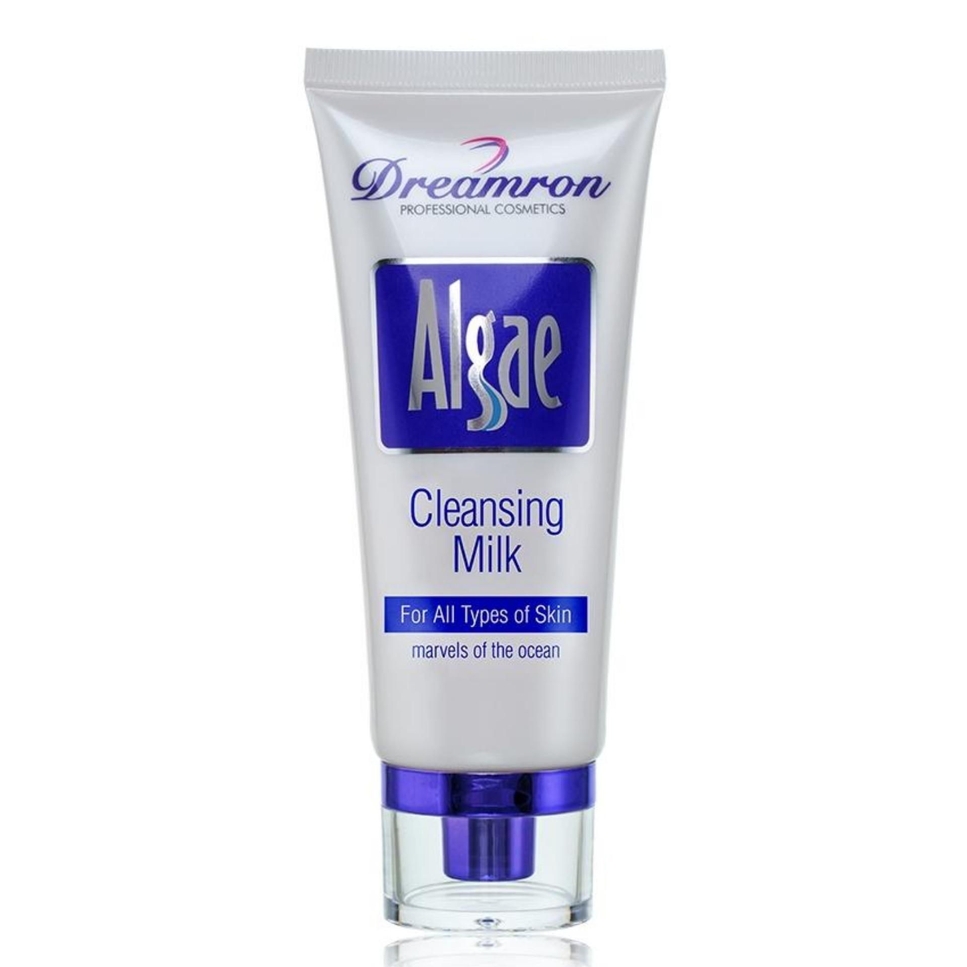 Sữa rửa mặt Dreamron Algae Cleansing Milk 100ml giúp dưỡng trắng da tốt nhất