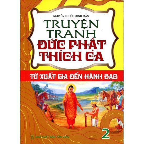 Mua Truyện Tranh Đức Phật Thích Ca - Từ Xuất Gia Đến Hành Đạo