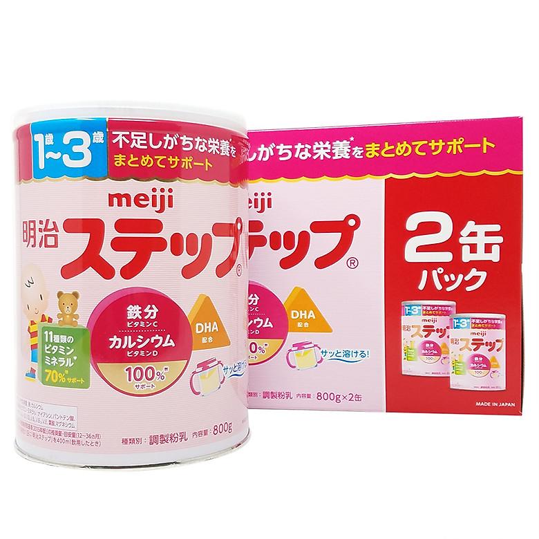 Ưu Đãi Khuyến Mại Khi Mua [Date 09/2021] Sữa Meiji Nội địa Số 9 Cho Bé Từ 1-3 Tuổi Mẫu Mới 2020 (800g)