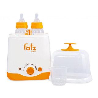 MáyHâm Sữa Tiệt Trùng FATZ BABY FB3012SL 2 Bình Cổ Rộng (Hâm Sữa, Hâm Thức Ăn, Tiệt Trùng),Công Nghệ Hâm Nóng Và Giữ Ấm PTC Rất Hiệu Quả Nhập Khẩu Từ Nhật Bản thumbnail