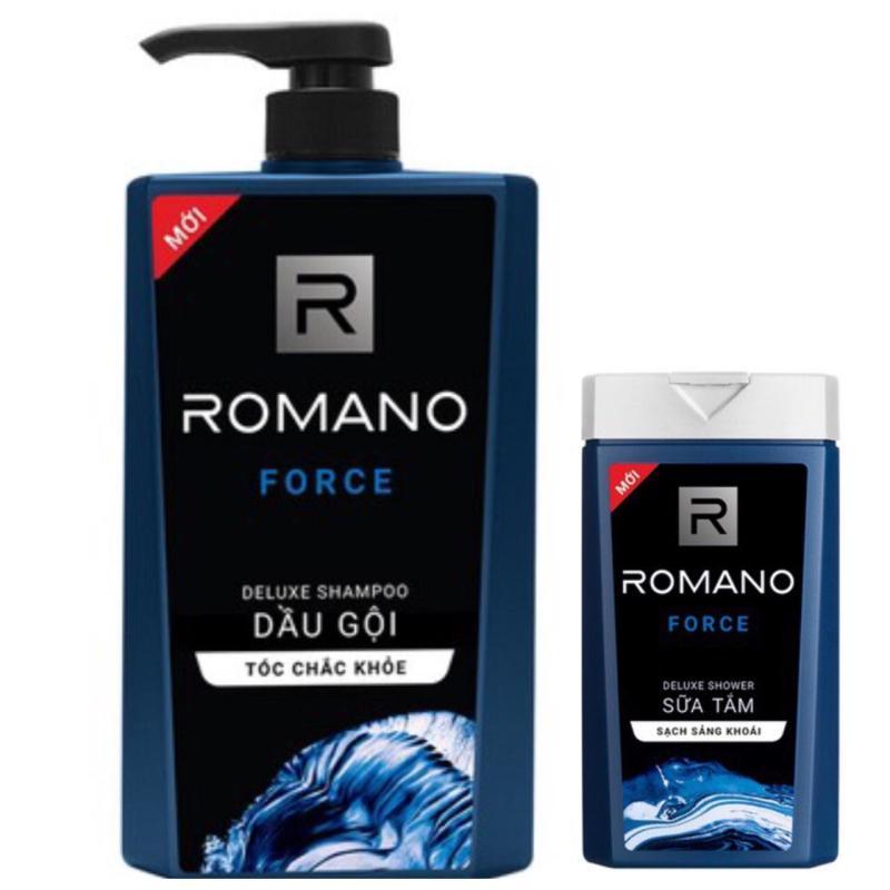 Dầu gội Romano Force 650ml tặng sữa tắm 150ml giá rẻ