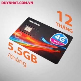 Sim 4G Vinaphone Trọn Gói 1 Năm (5GB Tháng - Gói D500) thumbnail