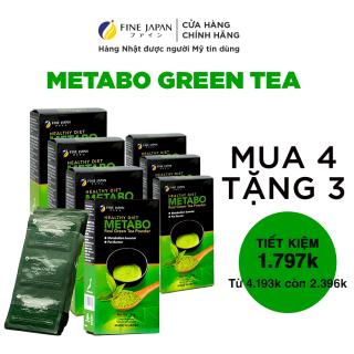 Combo 7 Hộp Trà Xanh Nhật Bản Hỗ Trợ Giảm Cân Metabo Green Tea Fine Japan (7 hộp x 30 gói x 8g) thumbnail