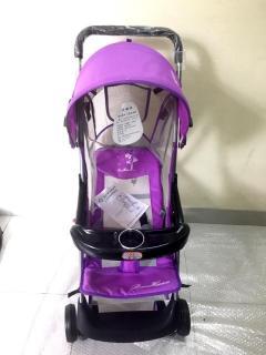Xe đẩy đi bộ trẻ em mã 6083 cao cấp (gấp gọn tiện lợi). Xe đẩy gấp gọn. Xe đẩy em bé. Xe đẩy trẻ em - Ngoc Khanh Market thumbnail