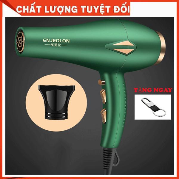 Máy sấy tóc cao cấp  ENJEOLON công suất lớn, Máy Sấy Tạo Kiểu, Máy Sấy Chuyên NGhiệp Chuẩn Salon ENJEOLON 2 chiều nóng lạnh khuyến mại hấp dẫn - Bảo hành 3 tháng