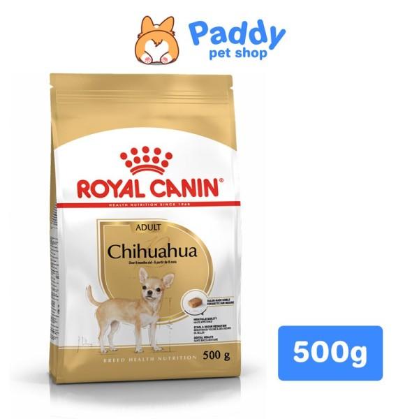 [500g] Thức Ăn Hạt Royal Canin Cho Chó Chihuahua Lớn - Chihuahua Adult