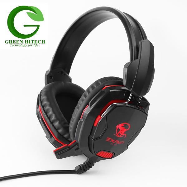 Bảng giá Headphone EXAVP Cao Cấp Gaming/DJ EX220 LED Full Box- Màu Đen Phong Vũ