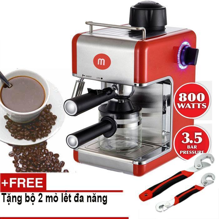Máy pha Cafe Mishio MK05 + TẶNG BỘ 2 CỜ LÊ ĐA NĂNG