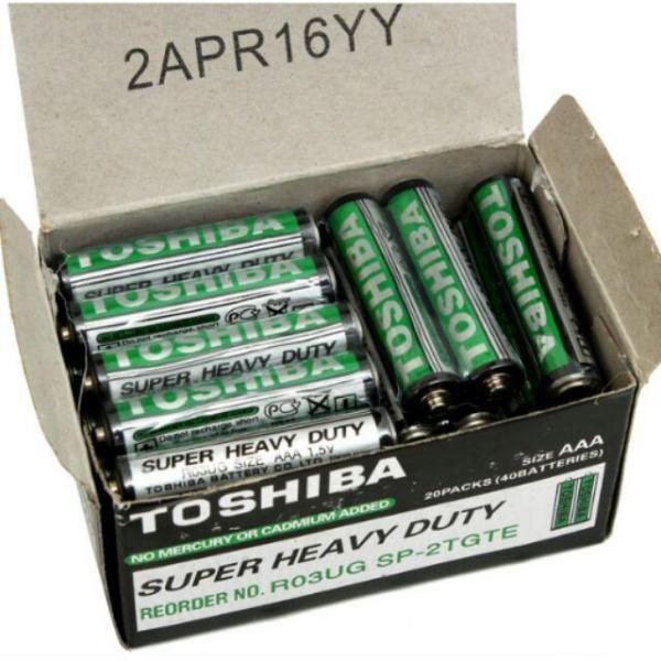 Bảng giá Hộp 40 viên pin AAA (3A) Toshiba