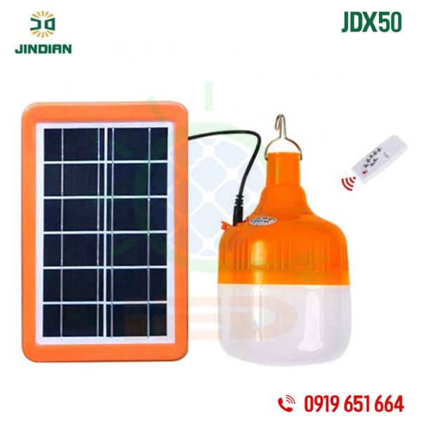 Đèn năng lượng mặt trời 50W Jindian JDX50