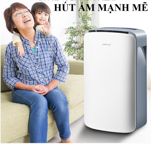 Máy hút ẩm Air Plus công suất lớn 10L - Lọc không khí- sấy khô quần áo- Máy hút ẩm thương hiệu Mỹ-bảo hành 1 năm.