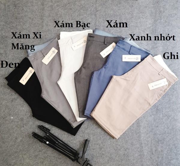 [Có hình thật] Quần short kaki nam co dãn có big size kiểu dáng thời trang nam tính (Nhiều màu)