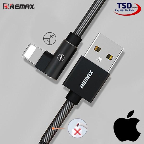 Cáp Remax RC-119i Sạc Nhanh iPhone, iPad Dây Dù Gập Chống Gãy