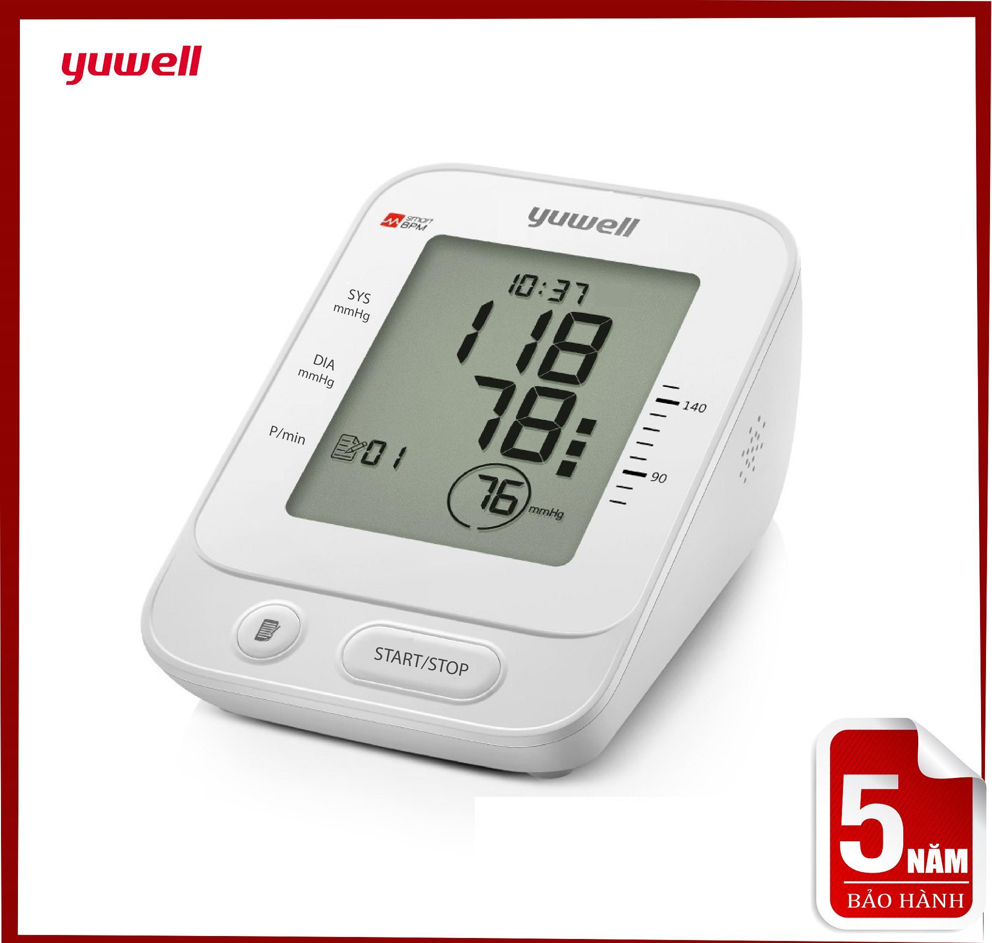Máy đo huyết áp bắp tay Yuwell YE660E bán chạy