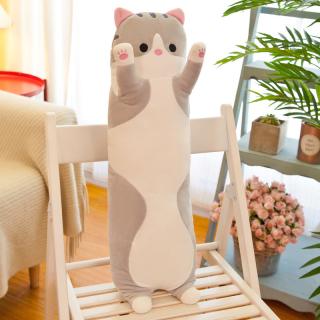 Gối Ôm Gấu Bông Mèo Dài Siêu Mịn 50cm TNB245 Quà Tặng Sinh Nhật Giáng Sinh thumbnail