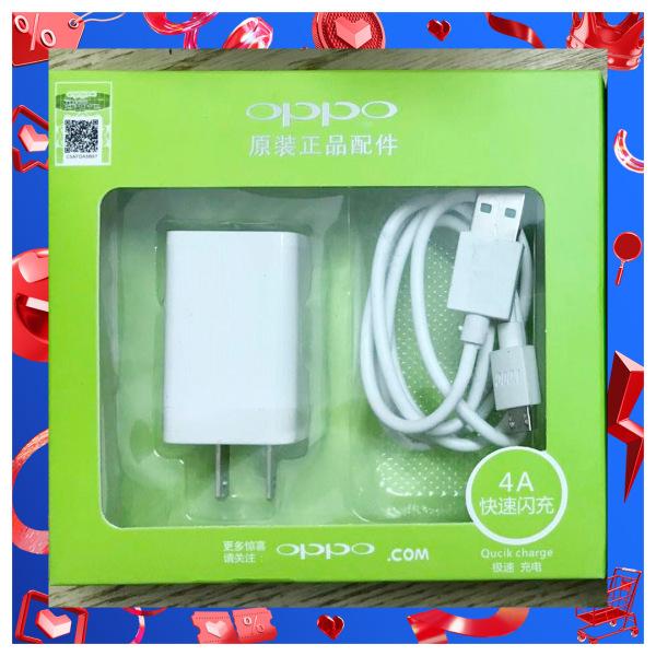 Bộ sạc nhanh OPPO 4A có 2 cổng USB Chất lượng chính hãng