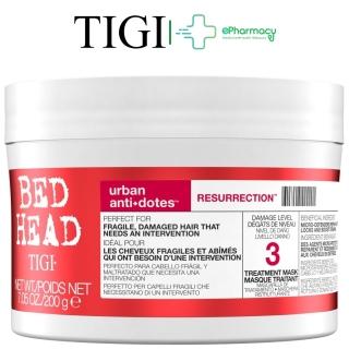 Kem Ủ Tóc TIGI Đỏ Bed Head Urban Antidotes Resurrection Treatment Mask hồi sinh tóc hư tổn level 3 200g thumbnail