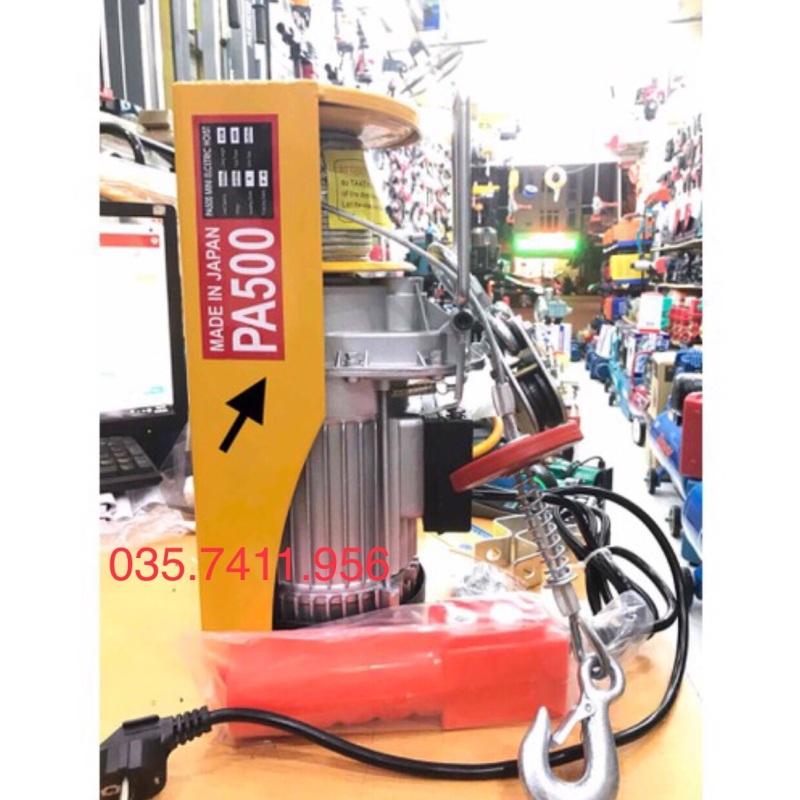 Máy tời treo máy tời điện pa 500