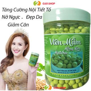 [Organic - Tăng Vòng 1] Hủ 500gr Viên Kẹo Nở Ngực Mầm Đậu Nành Matcha Hồng Sâm, Giảm Cân, Đẹp Da, Tăng Sinh Lý O2O Shop thumbnail