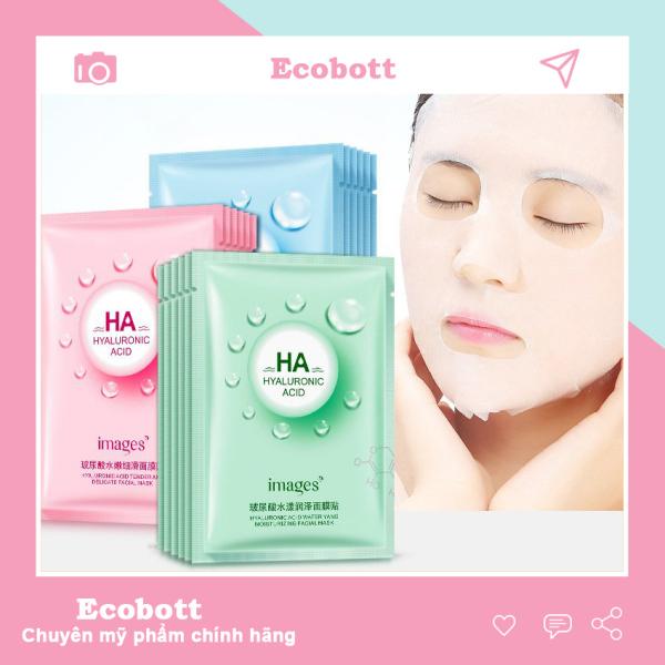 Mặt nạ giấy dưỡng da trắng da dưỡng ẩm ha Ecobott