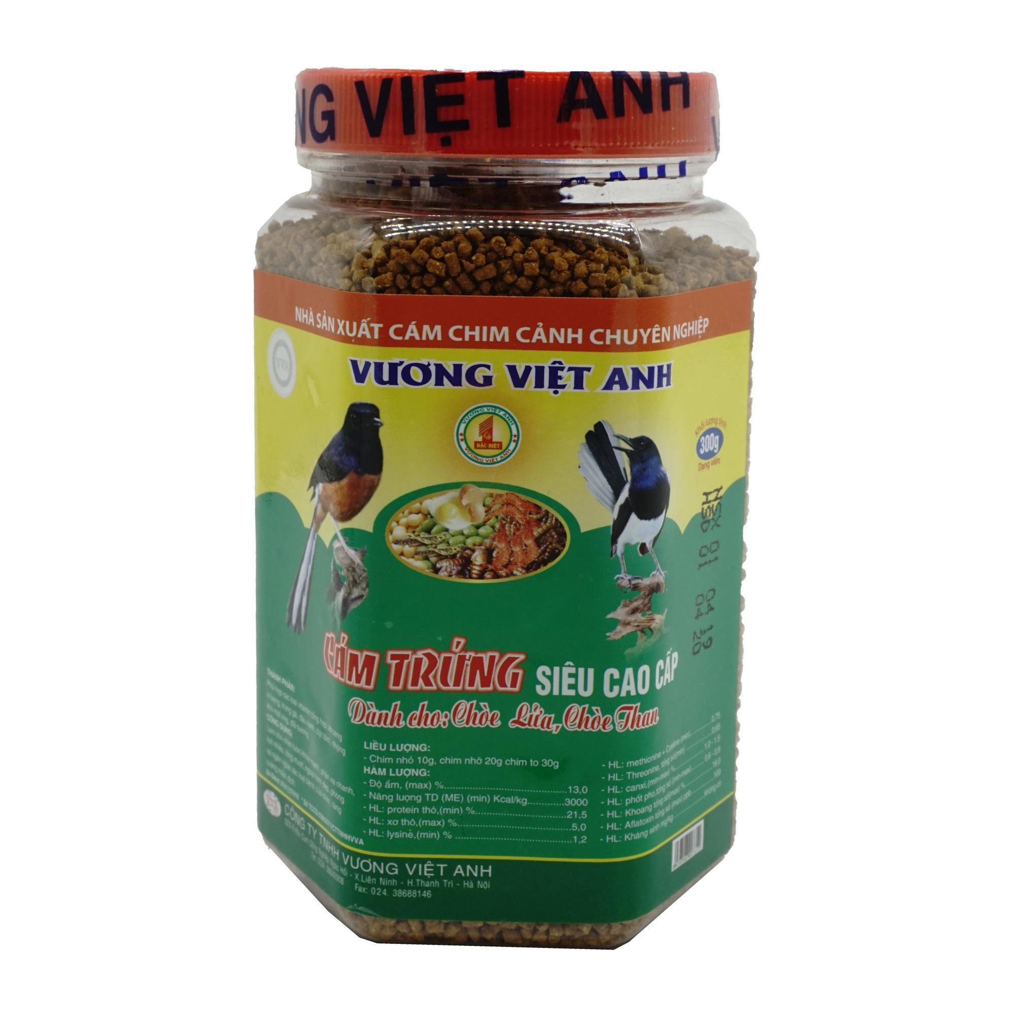 Cám trứng cao cấp dành cho Chòe lửa, chòe than VVA 300g