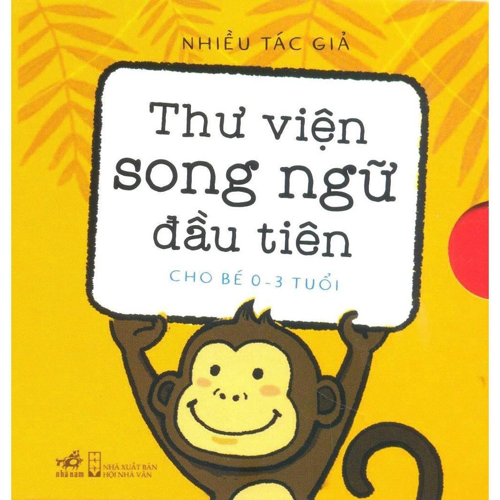 Bộ Sách 6 Cuốn Dành Cho Bé Từ 0 - 3 Tuổi - Thư Viện Song Ngữ đầu Tiên Của Bé Giá Cực Cool