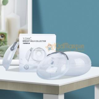 Dụng cụ hứng sữa, miếng lót hứng sữa V-coool, miếng lót ngực hứng sữa Vcool siêu nhẹ, thiết kế hiện đại thumbnail