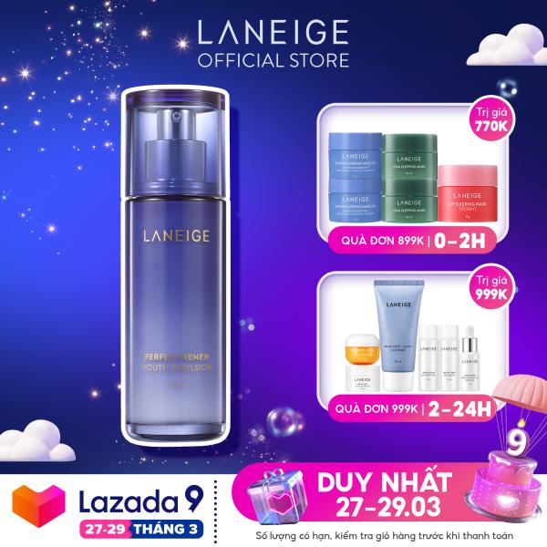 [Phiên Bản Mới] Sữa Dưỡng Phục Hồi Da Ngăn Ngừa Lão Hoá Laneige Perfect Renew Youth Emulsion 100ml nhập khẩu