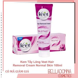 Kem Tẩy Lông Veet Hair Removal Cream Normal Skin 100ml thumbnail