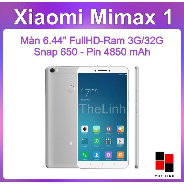 Điện thoại Xiaomi Mi Max màn to 6.44 inch - có Tiếng Việt