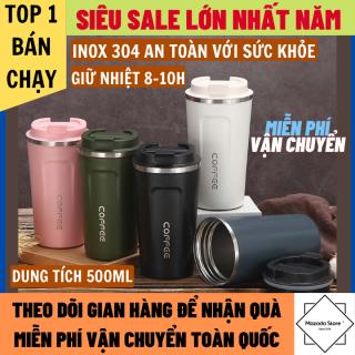 Bình Giữ Nhiệt Coffee Holic Inox 304 An Toàn Với Sức Khỏe, Giữ Nhiệt 8-10h, ly giữ nhiệt, bình nước giữ nhiệt, binh nuoc giu nhiet, cốc giữ nhiệt thumbnail