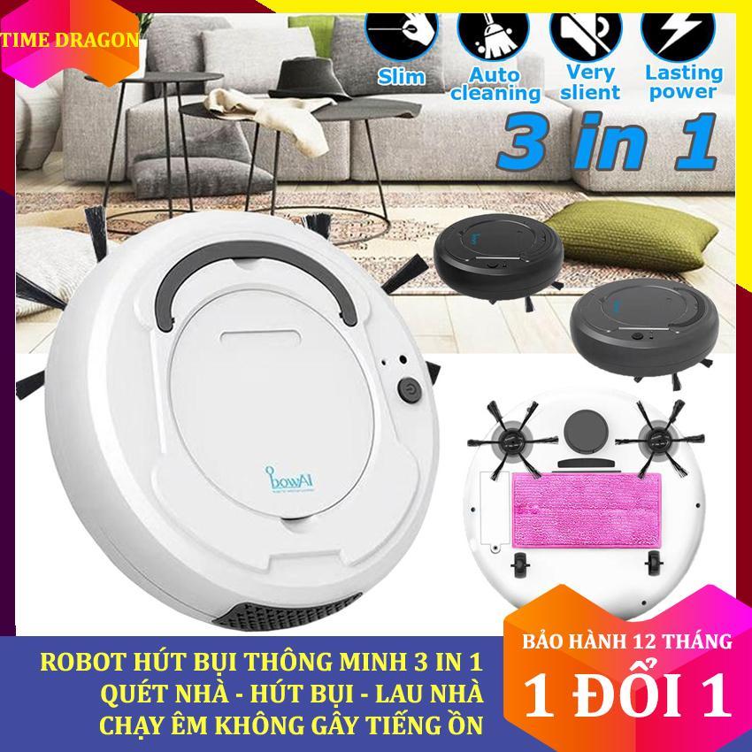 Bảng giá [Ô sin của gia đình bạn] Robot hút bụi tự động thông minh Bowai, may hút bụi mini mini 3 trong 1 quét, hút, lau nhà, Robot tự lau nhà thông minh Clean Robot, chổi quét nhà thông minh, máy hút bụi tự động xiaomi Điện máy Pico